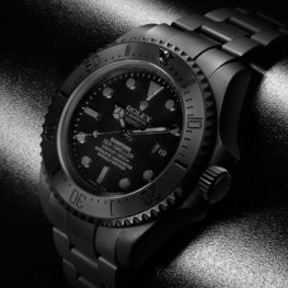 Rolex Deepsea Predator All Matt Black
