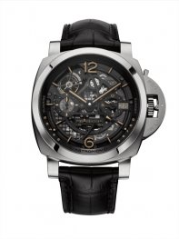 Panerai L ASTRONOMO Luminor 1950 Tourbillon Moon Phases Equation of Time GMT 50mm PAM00920 Watch Replica