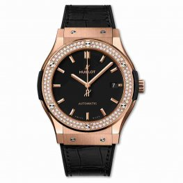 Hublot King Gold Diamonds 45mm Classic Fusion 511.OX.1181.LR.1104 Automatic Watches Replica