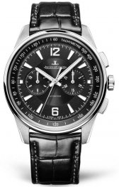 Jaeger-LeCoultre 9028470 Polaris Chronograph Stainless Steel/Black/Alligator Replica