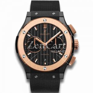 Hublot Ceramic King Gold 45mm Classic Fusion 521.CO.1781.RX Chronographs Replica