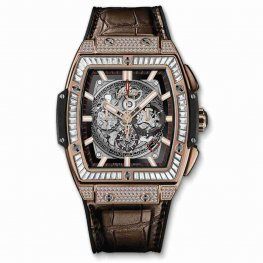 Hublot Spirit Of Big Bang King Gold Jewellery 601.OX.0183.LR.0904 Replica
