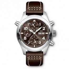 Replica IWC Pilot Brown Dial Automatic Men's Chronograph IW371808
