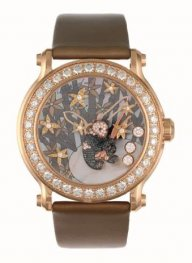 Chopard Superb Ladys Happy Sport Diamond And Gem-set Panda 137707-5003 Replica Watch