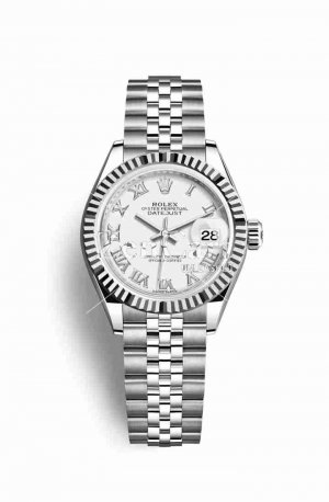 Rolex Datejust 28 White gold 279174 White Dial Watch Replica
