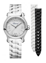 Chopard Happy Sport 30 MM Quartz Stainless Steel And Diamonds 278590-3001 Replica Watch