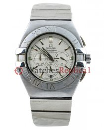 Omega Constellation Double Eagle Chronograph Mens Watch