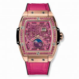 Hublot Spirit Of Big Bang Moonphase King Gold Pink 647.OX.7381.LR.1233 42mm Replica
