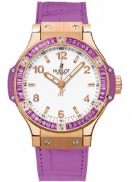 Hublot Big Bang Quartz Gold Tutti Frutti 38mm 361.pv.201