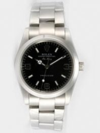Rolex Oyster Perpetual Air King Black Dial With