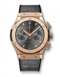 Hublot Classic Fusion Racing Grey Chronograph King Gold 521.OX.7081.LR Watch Replica