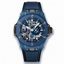 Hublot Big Bang MECA-10 Ceramic Blue 45mm 414.EX.5123.RX Replica Watch