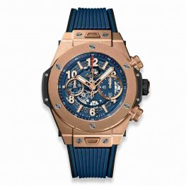 Hublot Big Bang Unico King Gold Blue 411.OX.5189.RX 45mm Replica