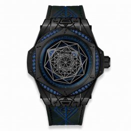 Hublot Big Bang One Click Sang Bleu All Black Blue 465.CS.1119.VR.1201.MXM18 39mm Replica