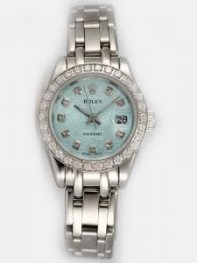 Rolex DATEJUST Reseda Dial With CZ Diamond Hour
