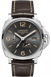 Panerai Luminor Due 3 Days GMT Power Reserve Automatic Acciaio 45mm PAM00944 Watch Replica