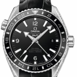 Omega Seamaster Planet Ocean 600 M Omega Co-axial GMT 43