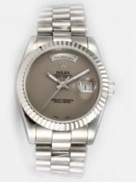 Rolex Day Date Grey Dial Men's Watch Rl8157