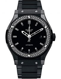Hublot Classic Fusion Black Magic Diamonds 511.CM.1170.CM.1104 Watch Replica