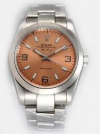 Rolex Oyster Perpetual Air King Brown Dial With