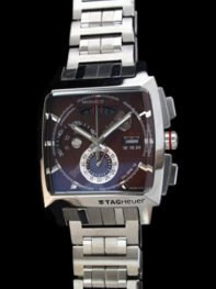 Tag Heuer Monaco LS Calibre 12 Quartz SS Brown on Bracel