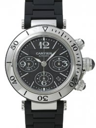 Cartier Pasha Seatimer Chronograph w31088u2 Watch