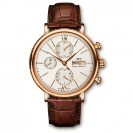 IWC?Portofino Chronograph Rose Gold