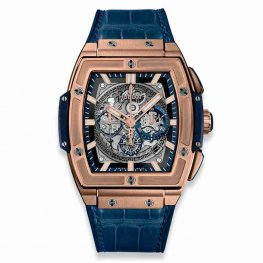 Hublot Spirit of Big Bang King Gold Blue 601.OX.7180.LR 45mm Replica