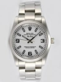 Rolex Oyster Perpetual Air King White Dial With