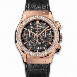 Hublot Classic Fusion Aerofusion King Gold Diamonds 525.OX.0180.LR.1104 45mm Replica
