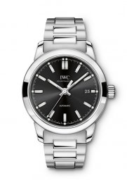 IWC Ingenieur Automatic Black Dial Mens IW357002 Replica