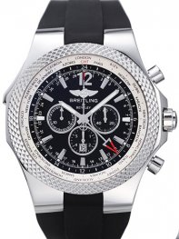 Breitling Bentley GMT Chronograph Watch a4736212/b919-1R