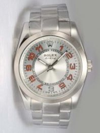 Rolex Oyster Perpetual Air King Silver Dial With
