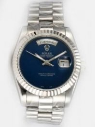 Rolex Day Date Sappire Dial With Arabic Hour Mar