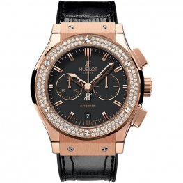 Hublot Classic Fusion Chronograph King Gold 541.OX.1180.LR.1104 Watch Replica
