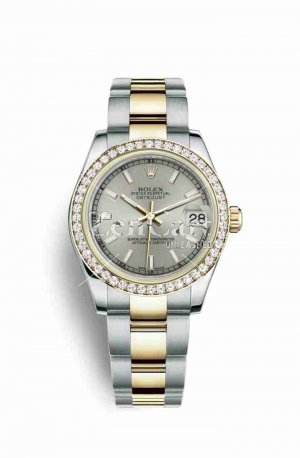 Rolex Datejust 31 Yellow 178383 Silver Dial Watch Replica