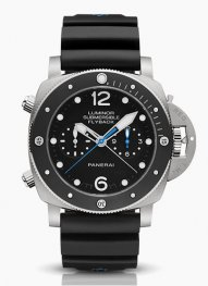 Panerai Luminor Submersible 1950 Chrono Flyback Titanio