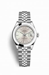 Rolex Datejust 28 Oystersteel 279160 Silver Dial Watch Replica