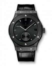 Hublot Classic Fusion Power Reserve All Black 516.CM.1440.LR Watch Replica