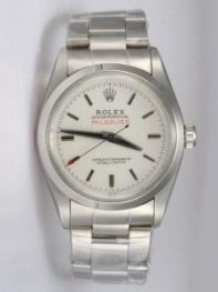 Rolex Sports Models Milgauss SS White Dial Shape
