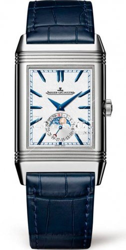 Jaeger LeCoultre Reverso Tribute Moon Stainless Steel Replica