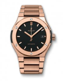 Hublot Classic Fusion King Gold Bracelet 510.OX.1180.OX Watch Replica