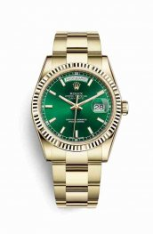 Rolex Day-Date 36 118238 Green Dial Watch Replica