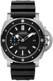 Panerai Luminor Submersible 1950 Amagnetic 3 Days Automatic Titanio 47mm PAM01389 Watch Replica