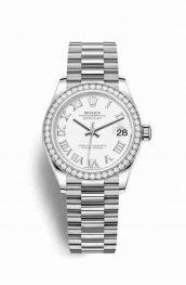 Rolex Datejust 31 278289RBR White Dial Watch Replica