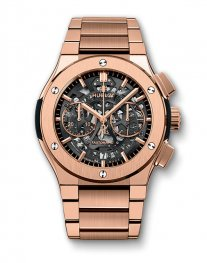 Hublot Classic Fusion Aerofusion King Gold Bracelet 528.OX.0180.OX Watch Replica