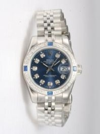 Rolex DATEJUST Sappire Dial With CZ Diamond Hour