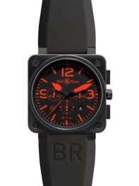 Bell & Ross BR01-94 Chronograph 46mm Watch BR01-94 Red
