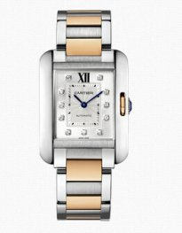 Cartier Tank Anglaise Ladies Watch WT100034