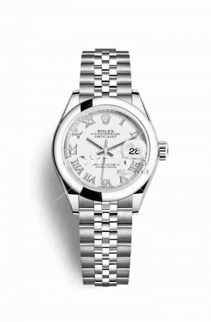 Rolex Datejust 28 Oystersteel 279160 White Dial Watch Replica